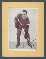 1935-40 Crown Brand Montreal Canadiens Hockey Photos #61 Paul Haynes