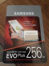 Samsung 256gb micro sd Class 10 card
