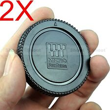 2x Camera Body Cover Cap for Olympus OM-D E-M1 E-M5 E-M10 PEN E-P1 E-P2 E-P3