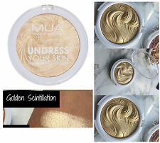 MUA UNDRESS YOUR SKIN POWDER HIGHLIGHTER - GOLDEN SCINTILLATION - CHAMPAGNE