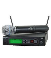 Shure Slx4 Beta 87a Condenser Wireless Professional Microphone 518-542Mhz