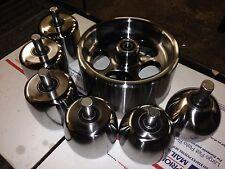 "English Wheel Anvils 4x9 & 3.5""x3.5"" lowers COMBO SET  by HoosierProfiles"