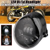 60W LED Scheinwerfer Für Harley V-rod VROD Muscle Street VRSC VRSCA 2002-2017