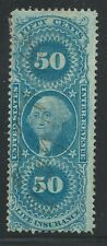 R 58c-LIFE INSURANCE 50 CENT REVENUE STAMP--48