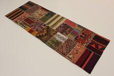 Nomades Patchwork Délavé Look Antique Tapis de Perse Tapis D'Orient 2,62 X 0,94