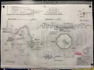 "ABC LOST TV Show Season 2 Dharma Original Artwork ""Swan Station Hatch"" - Pencil"