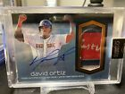 2018 Topps Dynasty David Ortiz Patch Auto /5 Game Used Jersey Boston Red Sox HOF