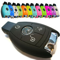Für Mercedes Autoschlüssel Funkschlüssel Schlüssel Hülle Cover Etui