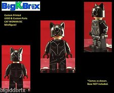 CAT WOMAN DC Batman Villain Custom Printed LEGO Minifigure NO Decals Used!