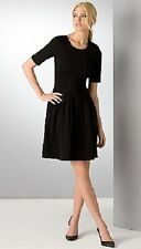 PINK TARTAN VOGUE PLEATED DRESS W/EXPOSED ZIPPER~BLACK~SMALL~$395~SOLD OUT~NWOT