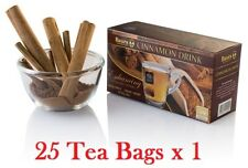 Cinnamon Drink Baurs 25 Bags Real Natural Ceylon Herbal Tea