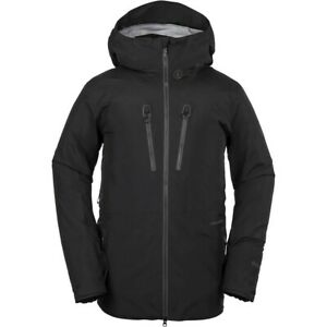VOLCOM TDS INF GORE-TEX guide snowboard JACKET - BLACK Mens Large