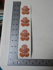 PROVO CRAFT GINGERBREAD HOLIDAY CHRISTMAS STICKERS SCRAPBOOKING NEW A2667