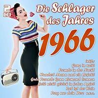 DIE SCHLAGER DES JAHRES 1966 2 CD NEU