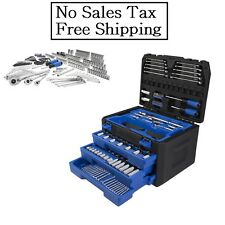 Kobalt 227-Piece Standard (Sae) and Metric Mechanic's Tool Set Hard NO TAX
