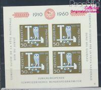 Schweiz Block17 postfrisch 1960 Pro Patria (8532483
