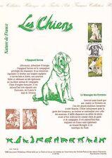 Document Philatélique Timbre 1er Jour : 18/09/ 1999 - Les Chiens