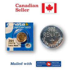 399 NEW! Renata Silver Oxide 1.55V Battery - 395, SR927SW, 280-48, SR57, SB-AP
