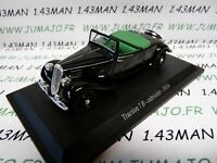 TRA19 voiture 1/43 atlas traction NOREV :  traction 7B cabriolet 1934