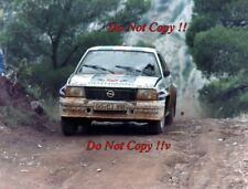 Walter Rohrl Opel Ascona 400 Acropolis Rally 1982 Photograph 2