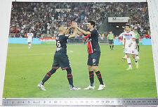 PHOTO 29.5 X 21 PARIS SAINT-GERMAIN PSG PASTORE JALLET LYON FOOTBALL 2011-2012
