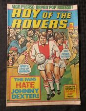 1979 ROY OF THE ROVERS Weekly Football Comic Nov. 10 FN+ Johnny Dexter