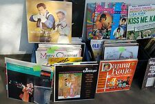 Vinyl Bundle – 1940's, 1950's, 1960's, 1970's, 1980's from list below