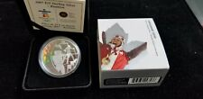 2007 $25 Sterling Silver Hologram Proof Coin- Biathlon- With COA & OMP