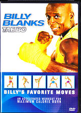 Billy Blanks Tae Bo (DVD, 2006) Favorite Moves New