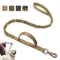 Correa Militar táctico de perro nailon Correa de adiestramiento Para Pit Bull