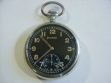 HELVETIA German Military Issued WWII DH Wehrmacht Pocket Watch