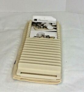 Plastic Udry Dish Drying Mat Off White/Tan - Umbra FREE SHIPPING