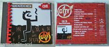 CITY (CD 3) Rauchzeichen / Rosen, Sehn-Sucht, Sieben Söhne,... Ariola CD TOP