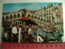 Cartolina Veneto - Venezia Rialto la Regata - VE 3713