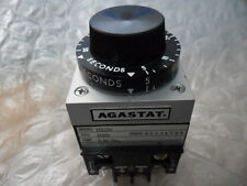AGASTAT Timing Relay tyco 7012OD 5-50 Seconds 24 VDC On-Delay Double Pole
