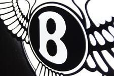 Bentley 3D sign lighted sport car garage racing rolls royce