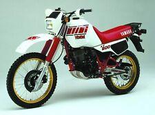 Tenere Yamaha XT600 34L NEW Decal set XT 600 Tenere Sticker set 1983 - 85