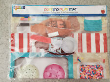NEW Pretend Play Ice Cream Shoppe Play Set, Kitchen Accessories, Felt Food