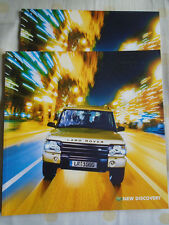 Land Rover Discovery range brochure 2002 German text