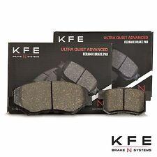 Premium Ceramic Disc Brake Pad FRONT + REAR New Set Shims KFE914 KFE536