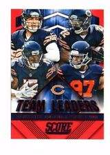 Chicago Bears 2015 Panini Score, Team Leaders, (Red) Jay Cutler