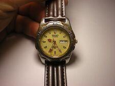 Seiko Sports 50 men's 5Bar 5 Bar diver's watch 7n43 works great