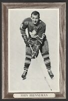 1964-67 Beehive Group III Toronto Maple Leafs Photos #156 John Brenneman