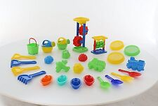 Bumper Sand and Water Play Set Toys Children Kids Gamez Galore Boats Shovel Rake