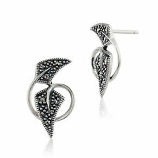 Butterfly Not Enhanced Sterling Silver Fine Earrings