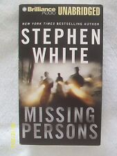 Alan Gregory: Missing Persons by Stephen White (2005, 9 Audio Cassettes, Unabr.)