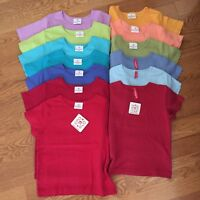 HANNA ANDERSSON girls NWT 90 100 110 120 130 140 150 160 POWER TEE S/S T-Shirts