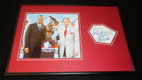Carl Peterson Signed Framed 12x18 Photo Display Chiefs