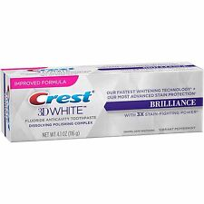 CREST 3D WHITE BRILLIANCE WHITENING TOOTHPASTE VIBRANT PEPPERMINT FLAVOUR