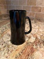 Black Amethyst Glass  - Purple - Vintage- Beer Stein/Mug